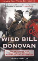 Wild Bill Donovan 9781416576204