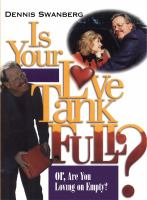 Is Your Love Tank Full? 9781439168417