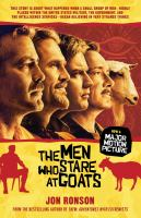 The Men Who Stare at Goats 9781439181775