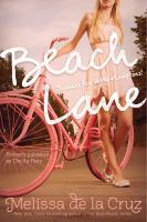 Beach Lane (The Au Pairs, Bk 1) 9781442474093