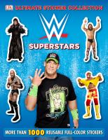 WWE Superstars Ultimate Sticker Collection 9781465439468
