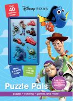 Puzzle Pals Activity Book (Disney Pixar) 9781474821209