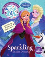 Sparkling Sticker Dress-Up (Disney Frozen) 9781474839075
