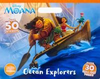 Ocean Explorers (Disney Moana, Coloring Pad) 9781474852715