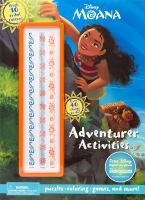Adventurer Activities Book (Disney Moana) 9781474852760