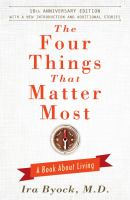 The Four Things That Matter Most (10th Anniversary Edition) 9781476748535