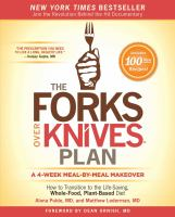 The Forks Over Knives Plan 9781476753294
