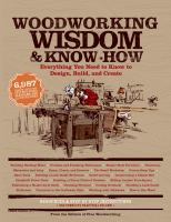 Woodworking Wisdom & Know-How 9781579129811
