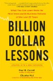 Billion Dollar Lessons 9781591842897