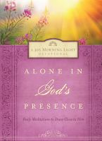 Alone in God's Presence 9781609367497