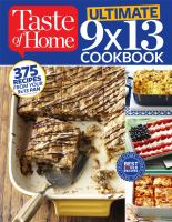 Ultimate 9X13 Cookbook (Taste of Home) 9781617654206