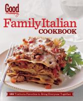 Family Italian Cookbook (Good Housekeeping) 9781618371188