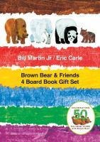 Brown Bear & Friends 4 Board Book Gift Set 9781627797306