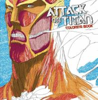 Attack on Titan Adult Coloring Book 9781632364142