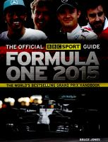 The Official BBC Sport Guide: Formula One 2015 9781780976075