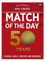 Match of the Day: 50 Years 9781849908139